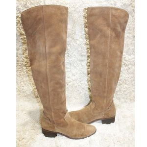 Dolce Vita Kitt Over the Knee Suede Leather Boots